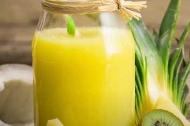 Sweet Immunity Green Juice