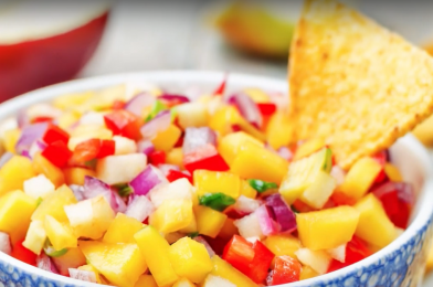 Summer Apple Salsa